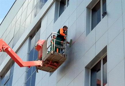 Внешние фасадные работы